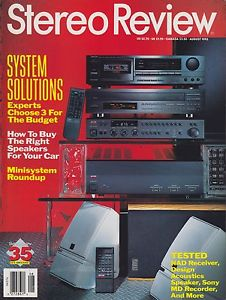 Stereo Review Magazine
